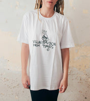 Camiseta 'Village Voice, High Times'