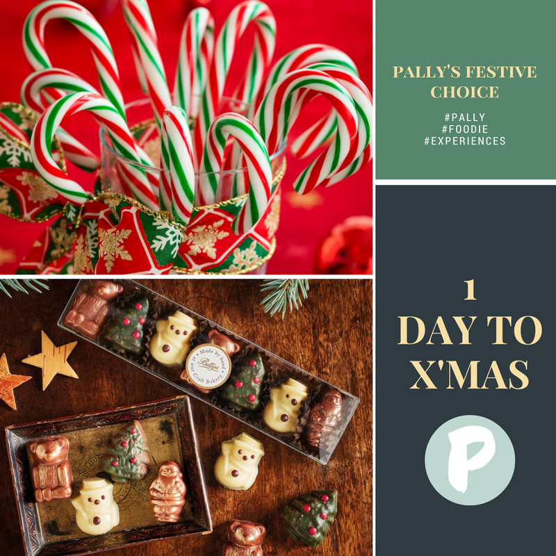 Pally's Festive Choice: Candy Cane Vs Chocolates