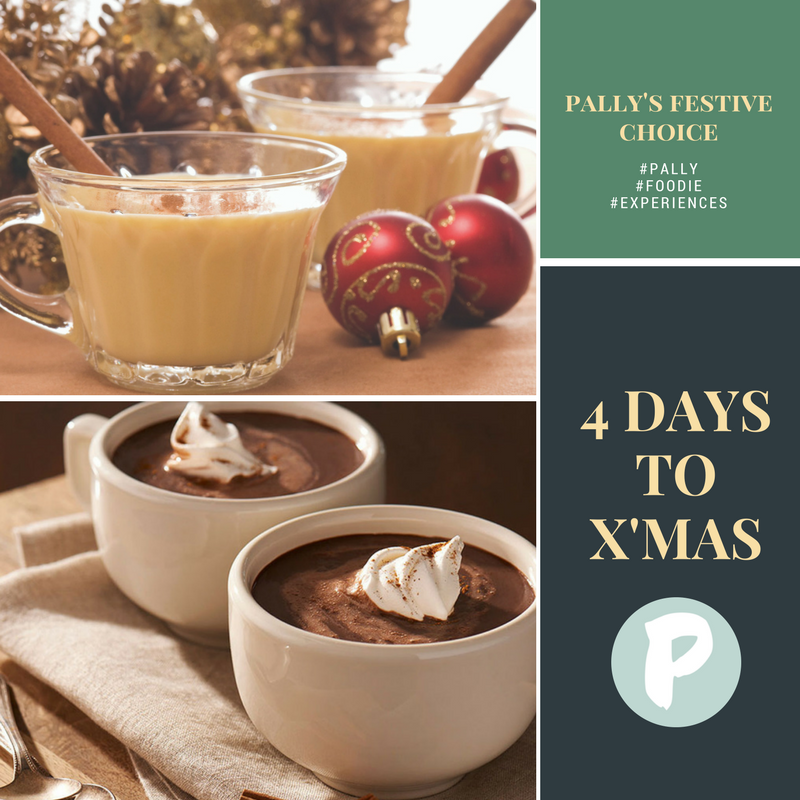 Pally's Festive Choice: Eggnog Or Hot Chocolate