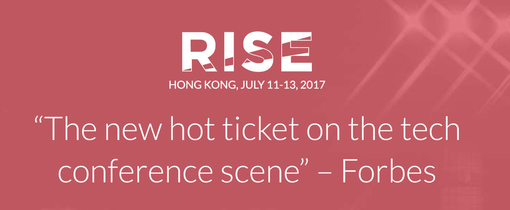 We are participating in the RISE Conference in Hong Kong!