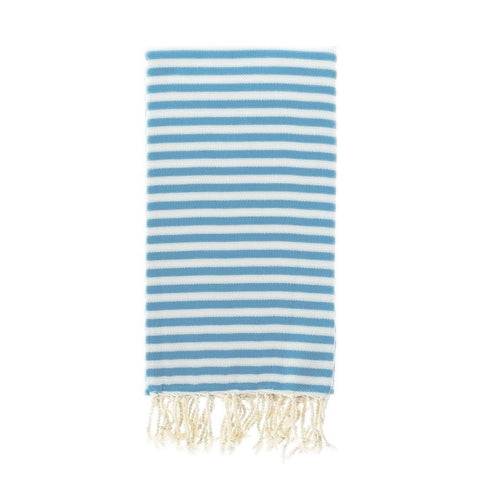 Capri Turkish Towel in Sky Blue