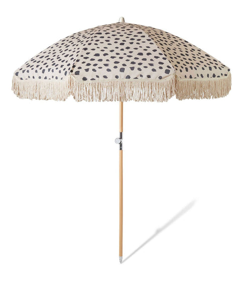 Sunday Supply Co. Spotted Beach Umbrella