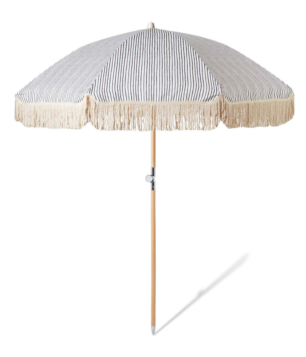 Sunday Supply Co. Natural Instincts Striped Beach Umbrella