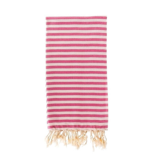Capri Turkish Towel in Sorbet