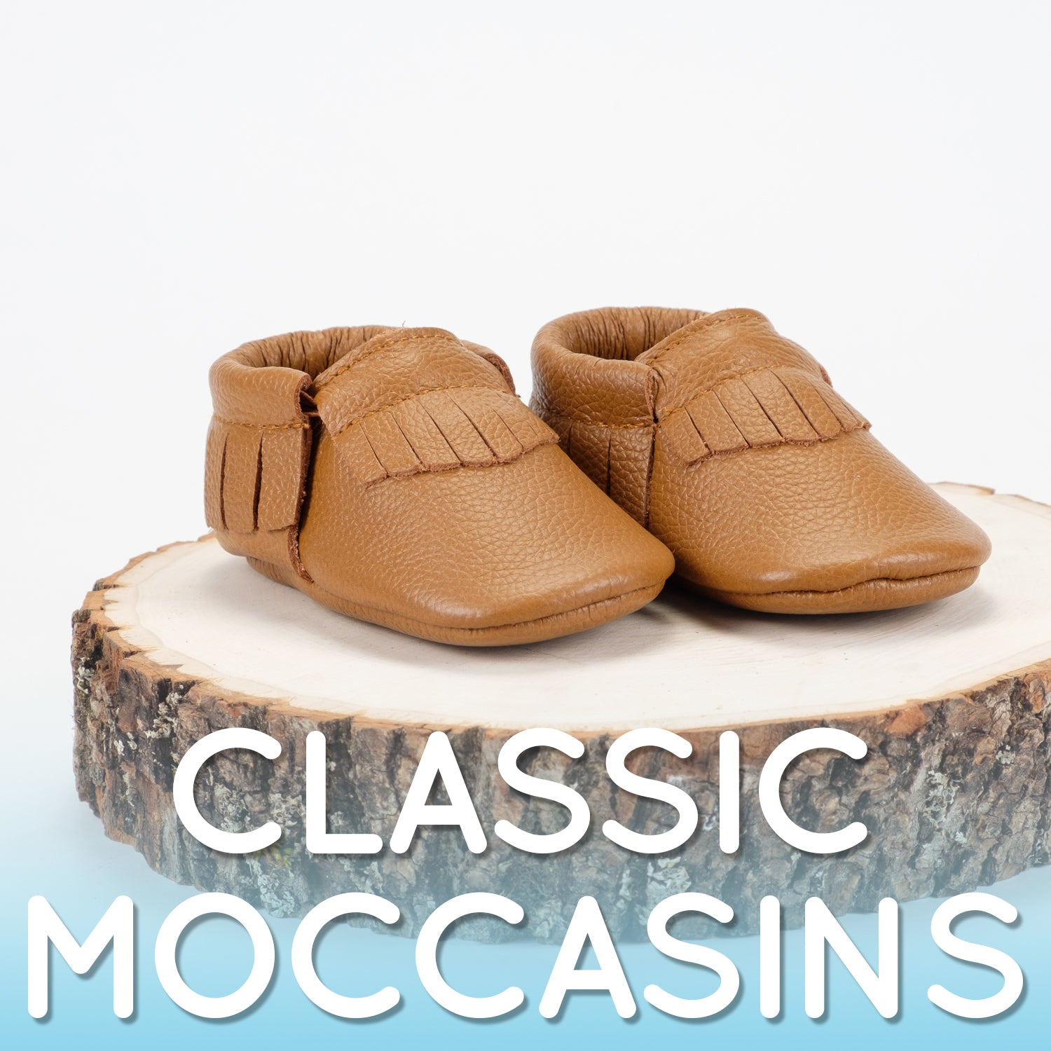 Classic Baby Moccasins