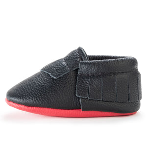 Panther Baby Moccasins