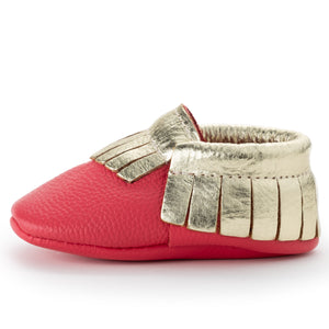 Rudolph Baby Moccasins