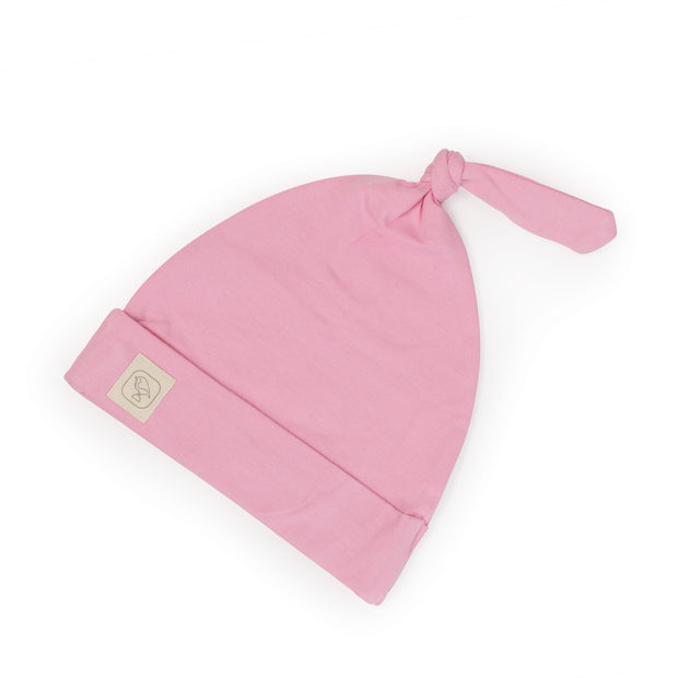 Ballet Pink Top Knot Hat 1