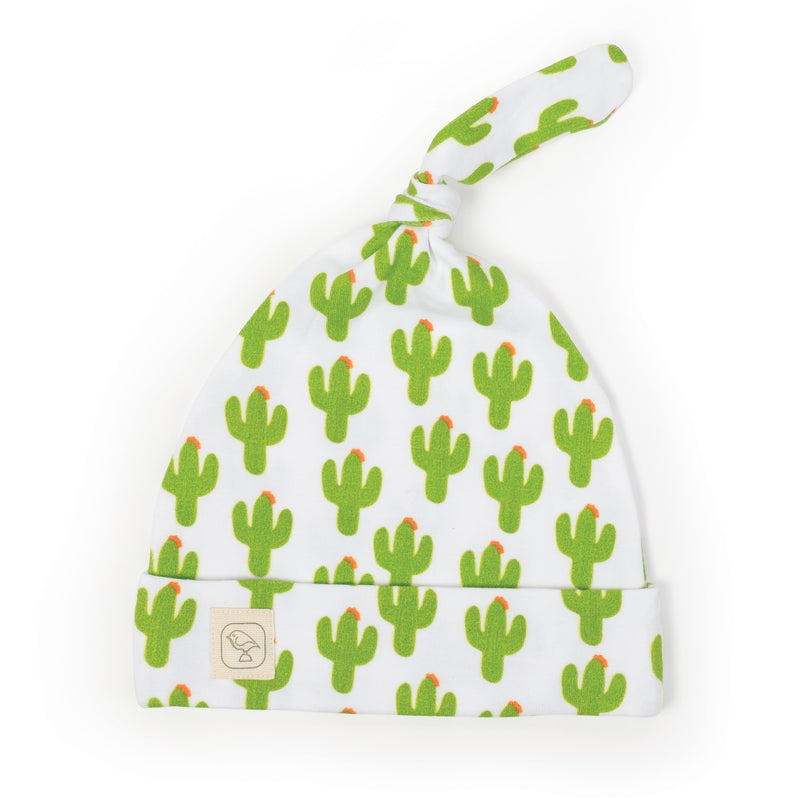 Cactus Top Knot Hat
