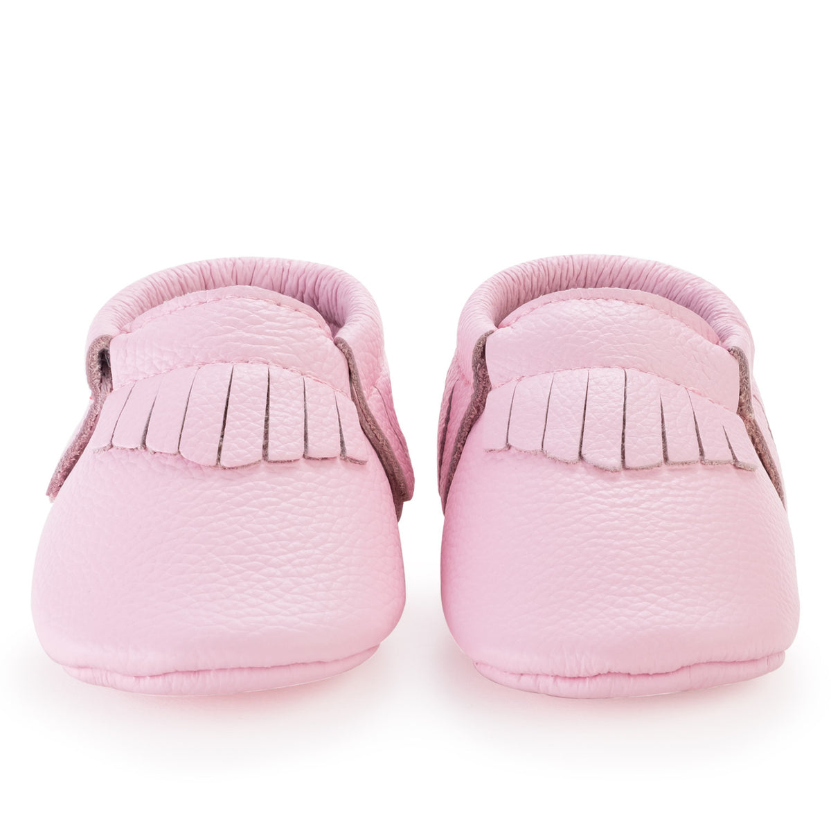Light Pink Baby Moccasins