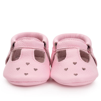 Pink Baby Mary Janes