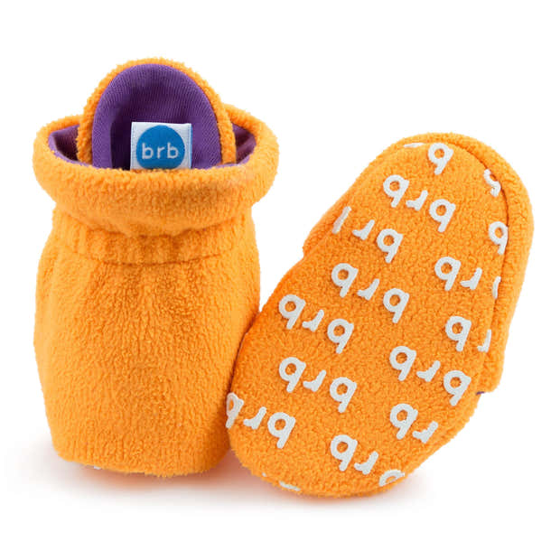 Passionfruit Baby Booties 1