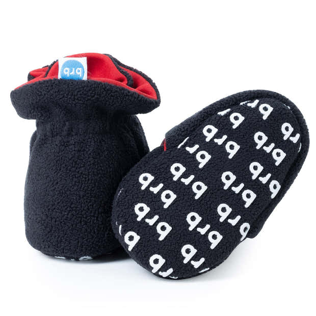 Panther Baby Booties 1