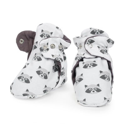 Bandit Cotton Baby Booties