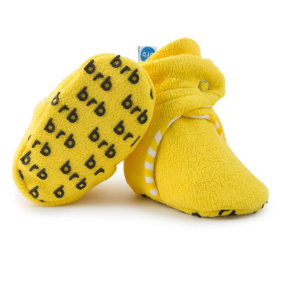 Lemonade Baby Booties