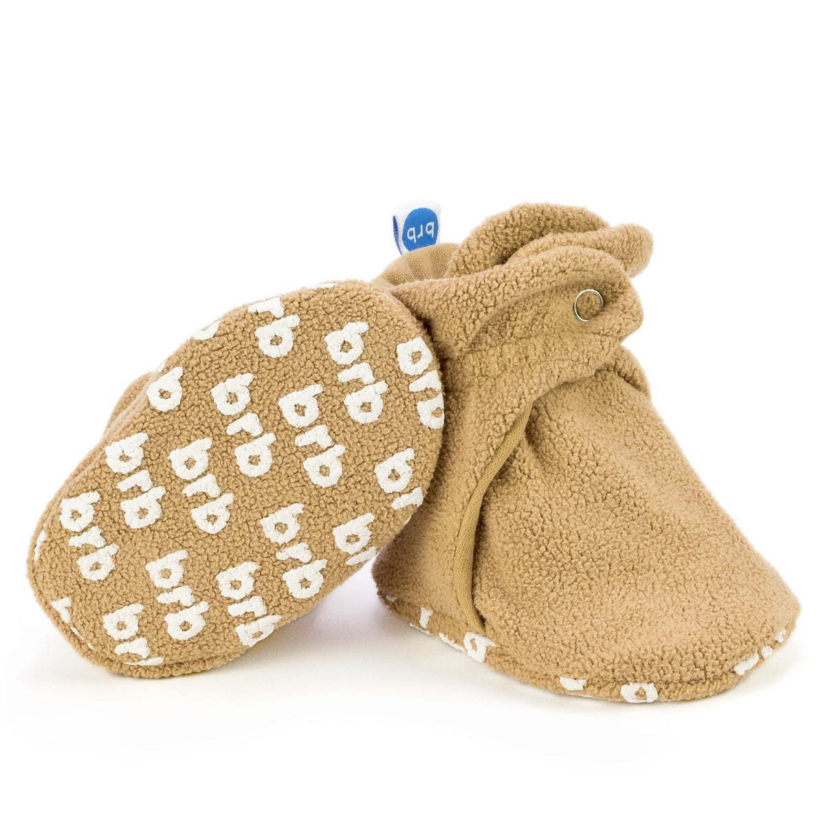 Teddy Bear Fleece Baby Booties