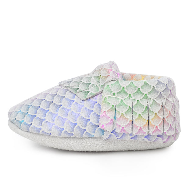 Classic Mermaid Baby Moccasins 1