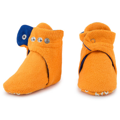 Pair of Orange Booties