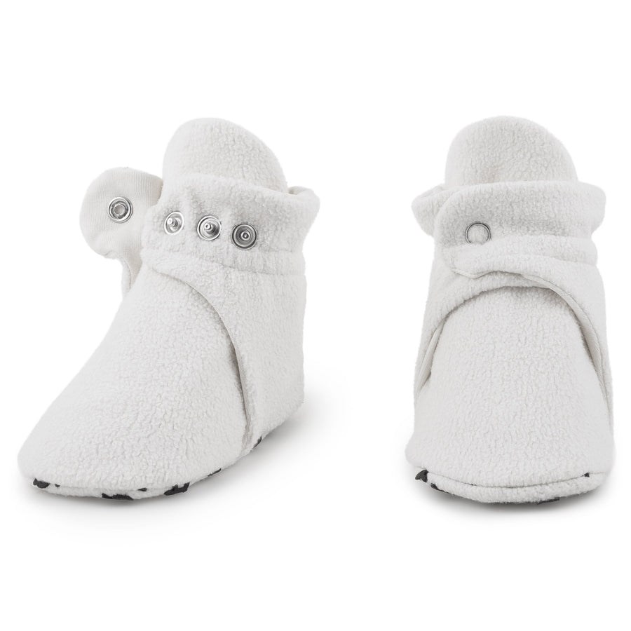 Cream White Baby Booties