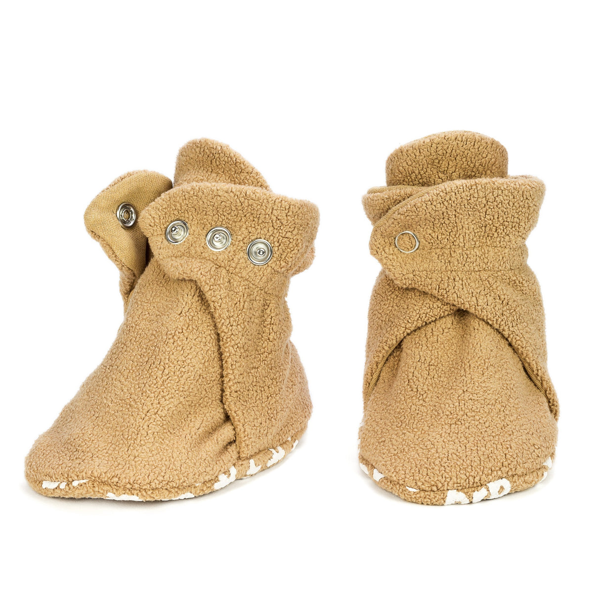 Pair of Teddy Bear Booties