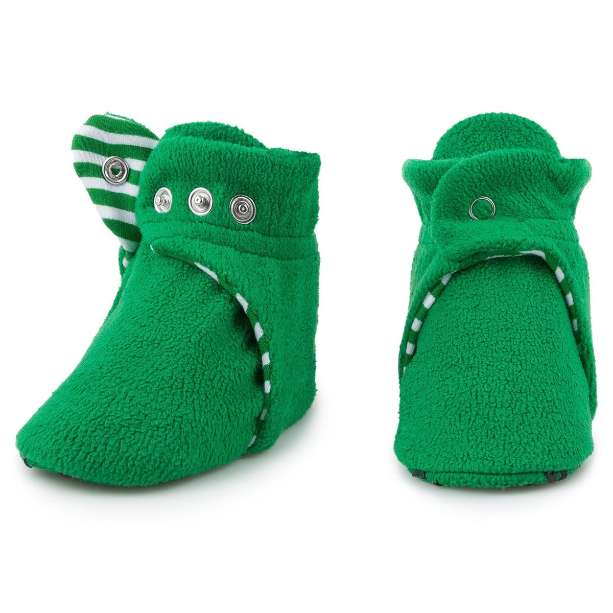 Pair of Wintergreen Baby Booties
