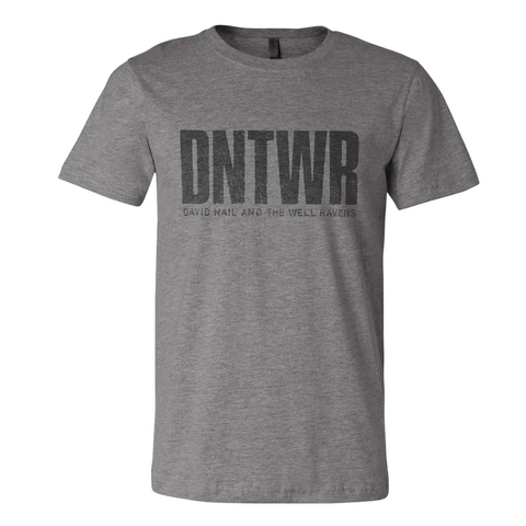 David Nail And The Well Ravens Grey Tee