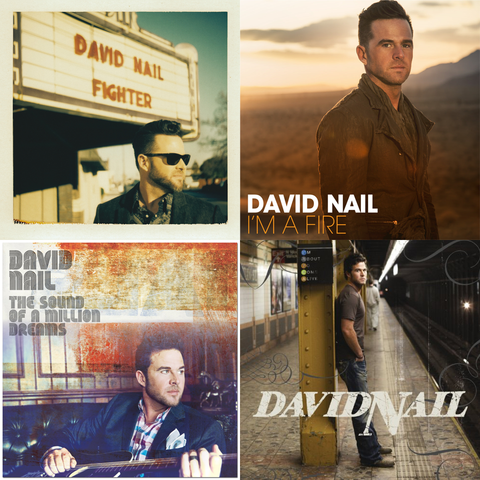 David Nail Four CD Set