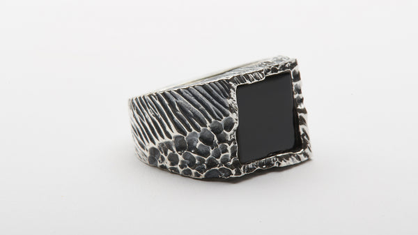 Onyx Square Ring