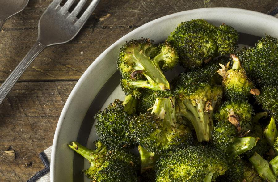Roasted Citron Broccoli