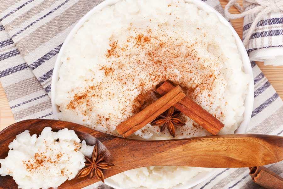 Chai Latte Rice Pudding