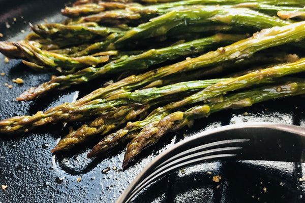 Citron Roasted Asparagus