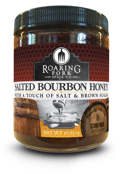 SALTED BOURBON HONEY