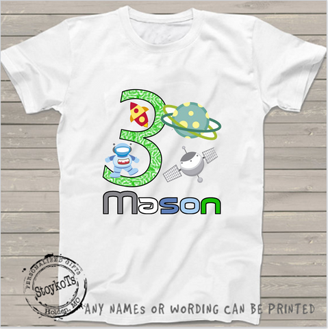 Mason 3rd Birthday Shirt Kids Shirts Boys Personalized
