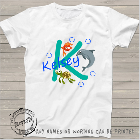 Kelsey, personalized, girls shirt