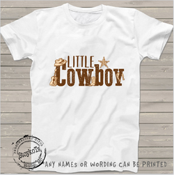 Cowboy, western , kids shirts, boys, personalized