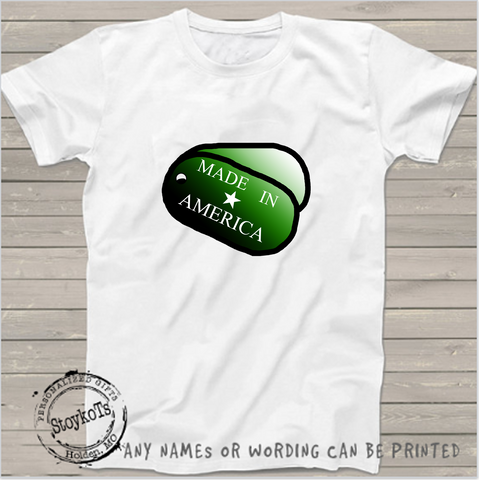 MADE IN AMERICA, 4th of July shirts Independence Day Personalized shirt
