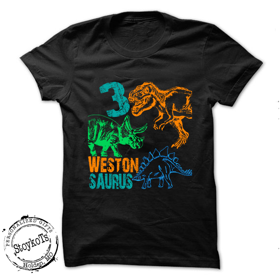Dinosaur Birthday Shirt