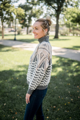 Ski resort turtleneck sweater