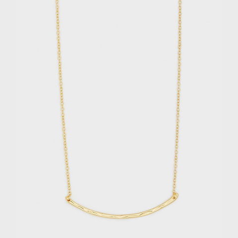 Taner Bar Small Necklace gold