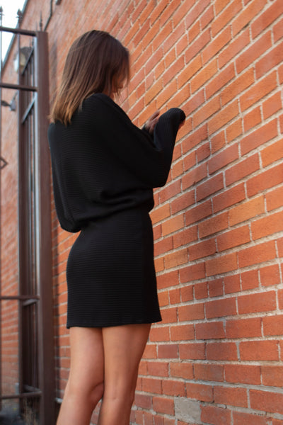 Sweater mini dress