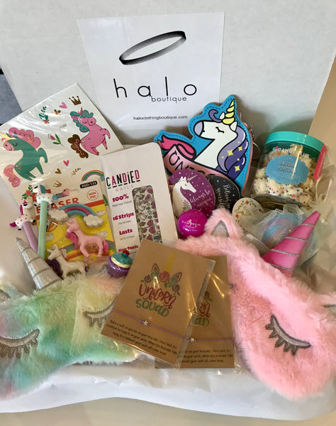 """Mommy & Me"" Unicorn Squad Box"