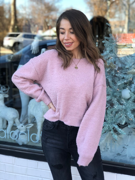 Teddy lounge pullover top