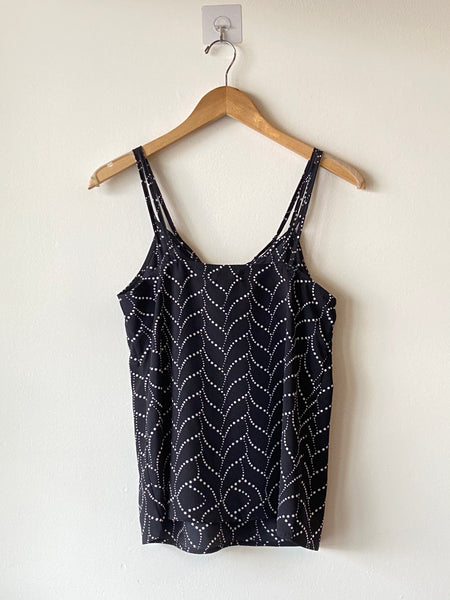 Double straps printed camisole