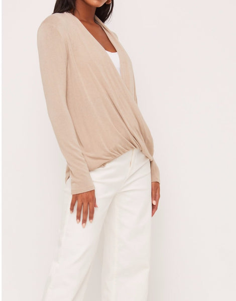 Front wrap top