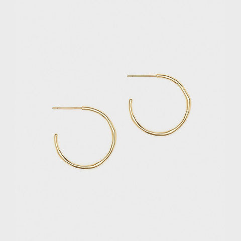 Taner Small Hoops gold