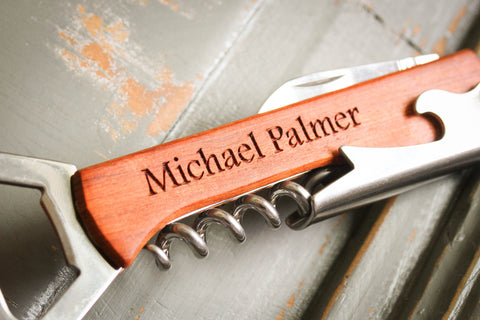 custom engraved personalized bottle opener