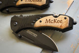 Multi-tool Folding Rescue Knife-Personalized pocket knife-EngraveMeThis