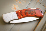 Deco Filigree Knife-Personalized pocket knife-EngraveMeThis