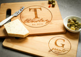 Classic Bamboo Cutting Board-Personalized Cutting Board-EngraveMeThis
