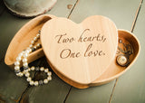Heart Jewelry Box-personalized wood box-EngraveMeThis